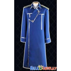 FullMetal Alchemist Edward Elric Cosplay Costume Blue