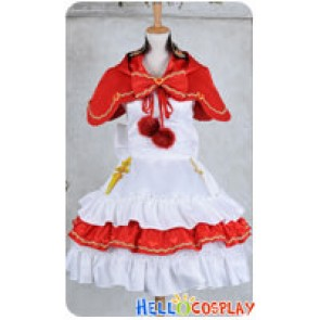 Vocaloid 2 Cosplay Miku Bad End Night Costume Dress