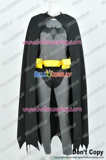 Batman The Dark Knight Bruce Wayne Cosplay Costume Jumpsuit Cotton Version