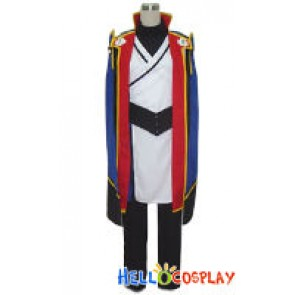 BlazBlue Cosplay Jin Kisaragi Costume