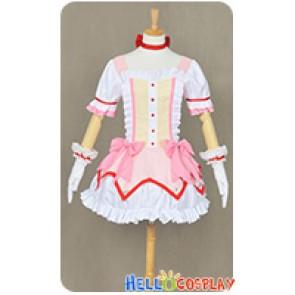 Puella Magi Madoka Magica Cosplay Madoka Kaname Dress Uniform Costume