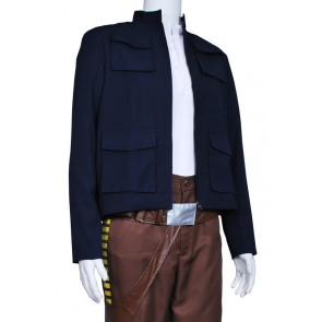 Star Wars The Empire Strikes Back Han Solo Cosplay Costume Coat