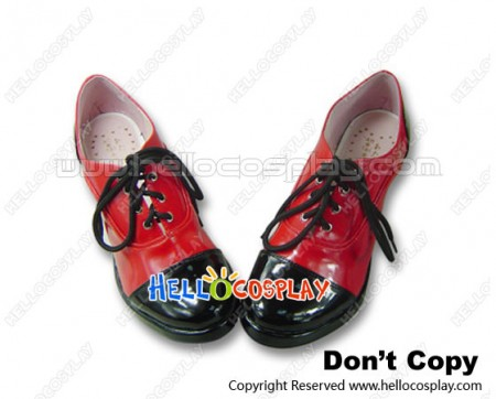 Black Butler Cosplay Shoes Grell Sutcliff Shoes