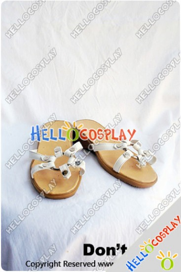 Touhou Project Cosplay Cirno Shoes New