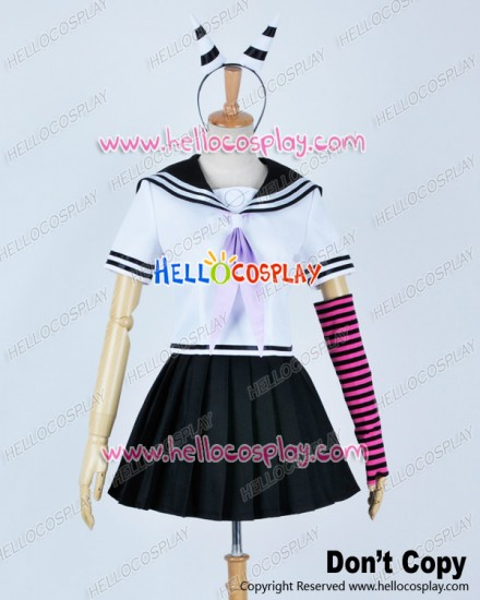 Super Danganronpa Dangan Ronpa 2 Cosplay Ibuki Mioda Uniform Costume