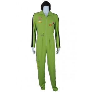 Super Danganronpa Dangan Ronpa 2 Cosplay Kazuichi Souda Green Costume