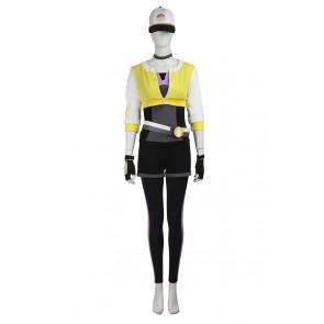 Pokemon GO Female Yellow Uniform Cosplay Costume