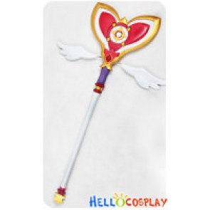 Elsword Cosplay Aisha Temporal Magic Wand Prop