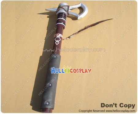 Assassin Creed Cosplay Connor Ratonhnhaké Ton Poleaxe Prop