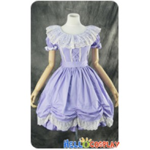 Gothic Lolita Lace Dress Cosplay Costume