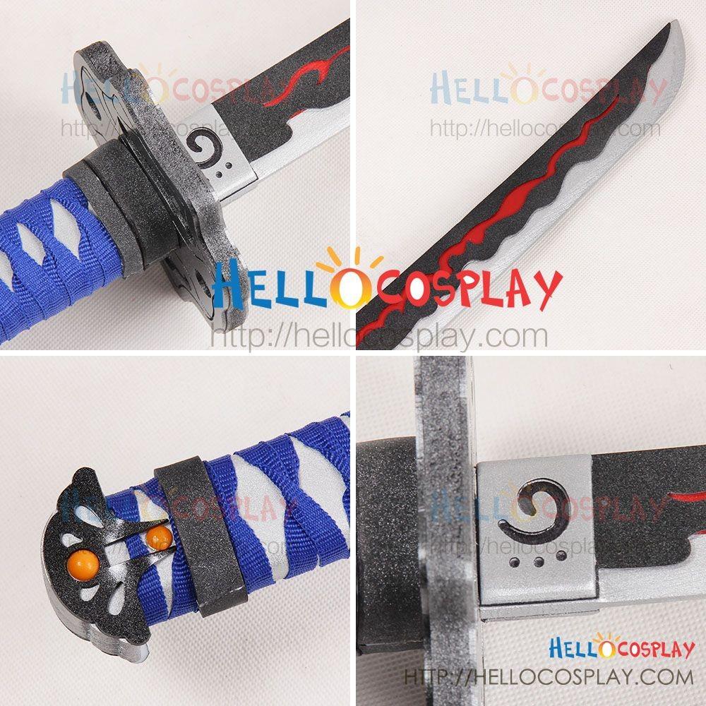 Ninja Gaiden Cosplay Ryu Hayabusa Katana Sword Weapon Prop