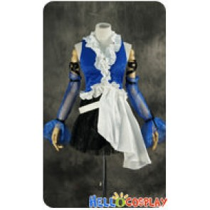 Final Fantasy X 10 Cosplay Yuna Lenne Dress Costume