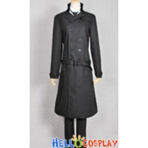 Black Butler 2 Kuroshitsuji II Costume Sebastian Michaelis Coat