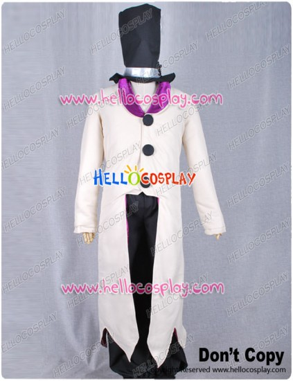 D Gray Man The Millennium Earl Cosplay Costume