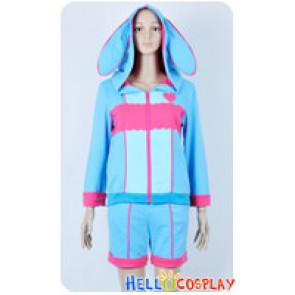 Karneval Cosplay Nai Muhinyi Costume Moe Rabbit Ear Jacket Hoodie