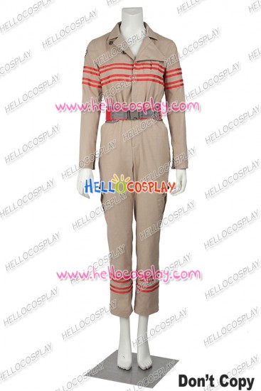Ghostbusters Erin Gilbert Jillian Holtzmann Cosplay Costume Uniform
