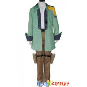 Final Fantasy XIII Cosplay Sazh Katzroy Costume