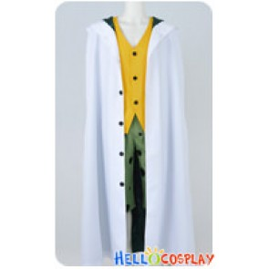 One Piece Cosplay Pluto Silvers Rayleigh Uniform Costume