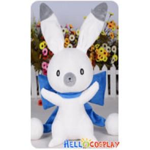 Vocaloid Cosplay 2014 Snow Miku Cute Rabbit Blue Ver Plush Doll