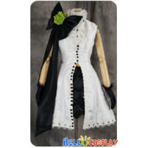 Vocaloid 2 Cosplay Rin Kagamine White Camellia Formal Dress Costume