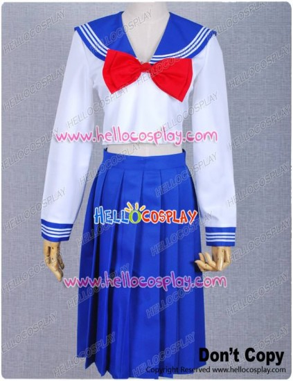 Sailor Moon Cosplay Serena Usagi Tsukino School Uniform Costume