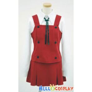 Hidamari Sketch Cosplay School Girl Uniform
