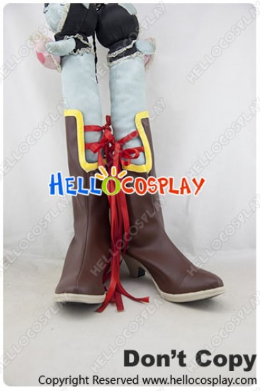 Tales Of Zestiria Cosplay Shoes Rose Boots
