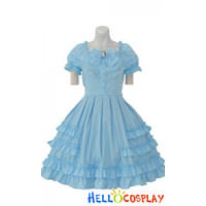 Lolita Costumes Black/Blue/Pink/Red
