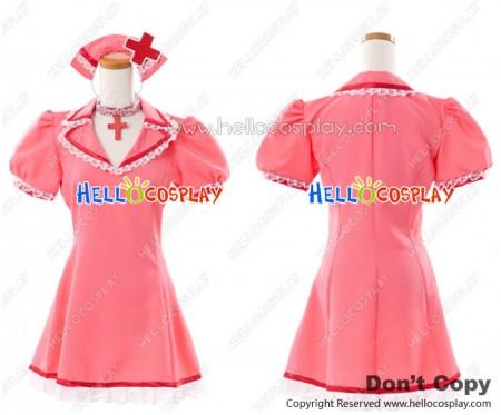 Vocaloid 2 Cosplay Meiko Dress Costume Love Ward Nurse Outfit