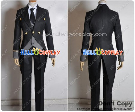Vocaloid Cosplay Bad End Night Gakupo Swallowtail Costume