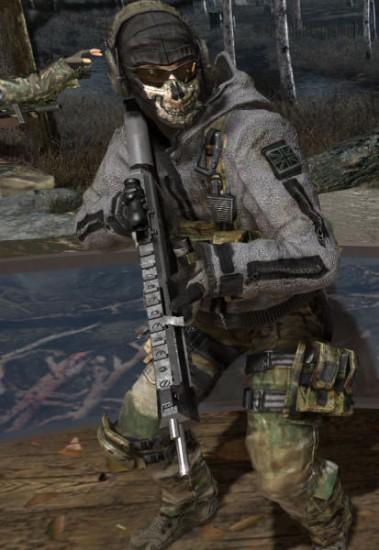 Ghost Modern Warfare Costume Jacket