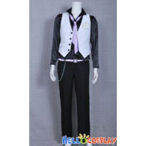 Vocaloid Cosplay Just A Game White Camellia Kamui Gakupo Costume