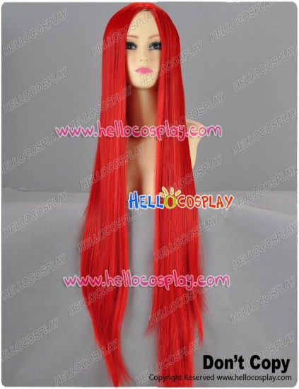 Red Long Cosplay Wig