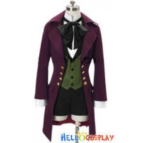 Black Butler Kuroshitsuji II 2 Cosplay Earl Alois Trancy Costume