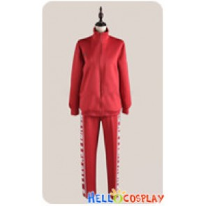 Haikyū Cosplay Volleyball Juvenile Red Sportswear Uniform Costume