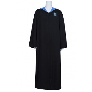 Harry Potter Costume Ravenclaw of Hogwarts Robe Coat Cape