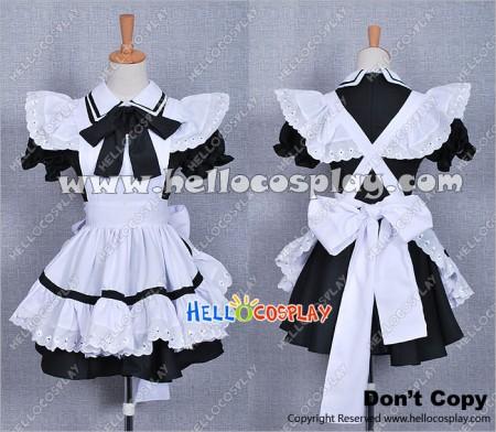 Girl Black Maid Dress