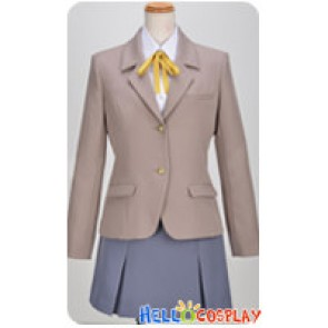 Oreimo My Little Sister Can't Be This Cute Cosplay Beige Costume School Girl Uniform