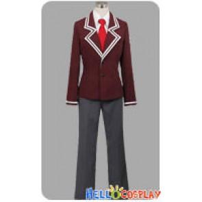 Aria The Scarlet Ammo Cosplay Butei High School Boy Uniform