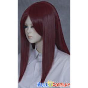 Darker Red 50cm Cosplay Straight Wig