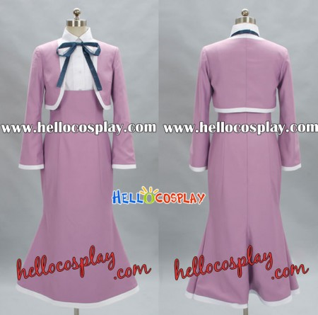 Amanchu Cosplay Pink Dress