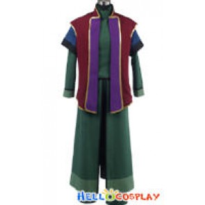 Gundam 00 Mr Bushido Cosplay Costume Uniform