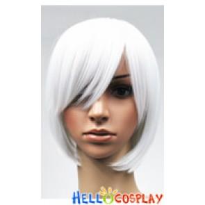 White Bobo Cosplay Short Wig