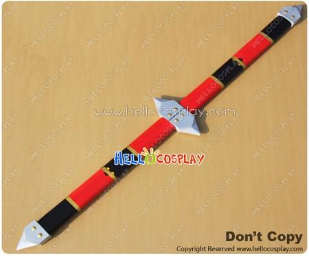 Ninpuu Sentai Hurricaneger Cosplay Power Rangers Ninja Storm Sword Stick Prop
