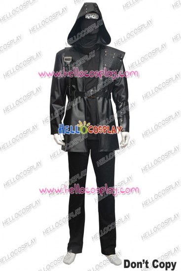 Green Arrow Malcolm Merlyn Arthur King Cosplay Costume