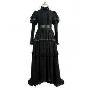 Victorian Lolita Edwardian Regency Reenactment Punk Lolita Dress