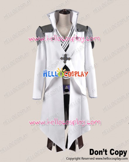 Brave Ten Cosplay Kamanosuke Yuri White Black Costume