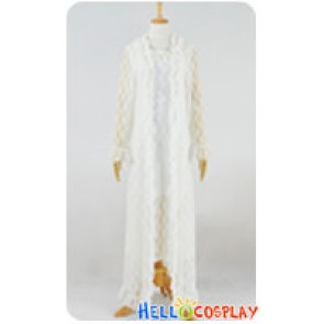 The Phantom Of The Opera Cosplay Christine Daaé Fancy White Lace Dress Costume