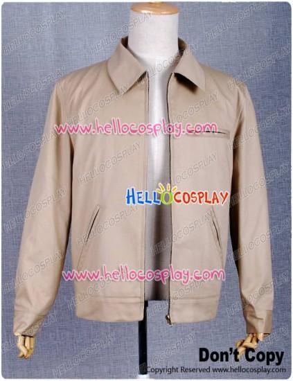 Smallville Clark Kent Cosplay Tan Beige Jacket Coat Costume