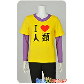 No Game No Life NGNL Noge Nora Cosplay Brother Sora Human T Shirt Costume